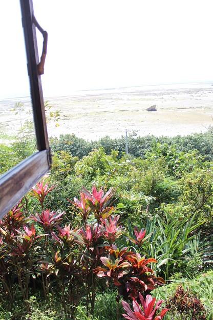 山の茶屋楽水海の見える席