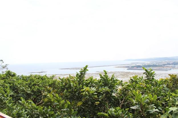 山の茶屋楽水の展望台
