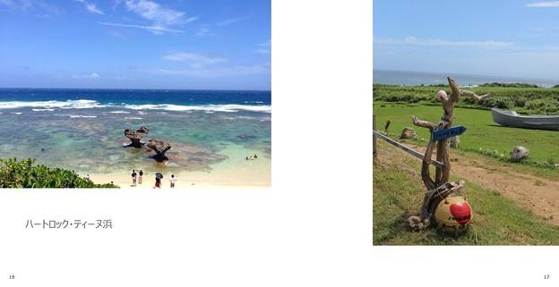 沖縄旅行フォトブック(ティーヌ浜)