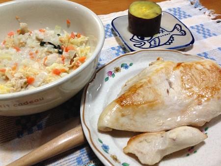 マリうみディナー(鶏肉ドォーーン!)