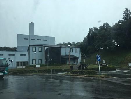 函南町のゴミ焼却場(立派だよね)