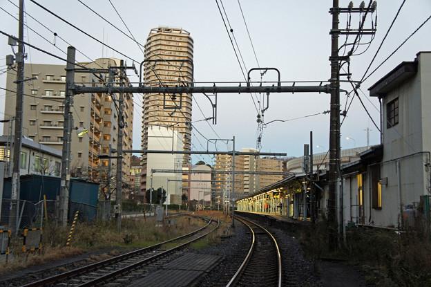 未明の横須賀駅