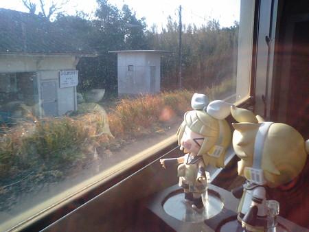 福島高松駅に停車。 リン:「宮崎県のはずなのに『福島』でしかも『...