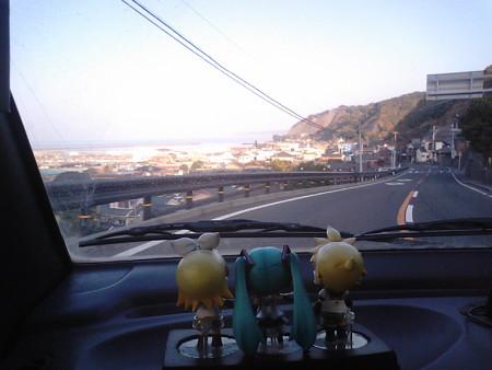 リン:「錦江湾が見えてきたゅ!」
