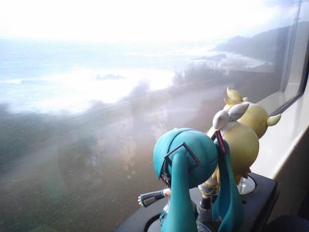 西方→薩摩大川間。 レン:「空が明るくなってきた!!」 ミク:「お...