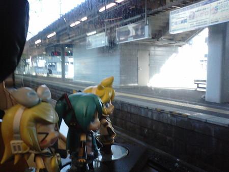 久留米駅に停車。