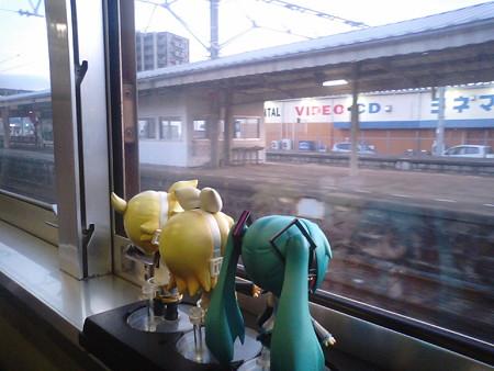 柳井駅に停車。