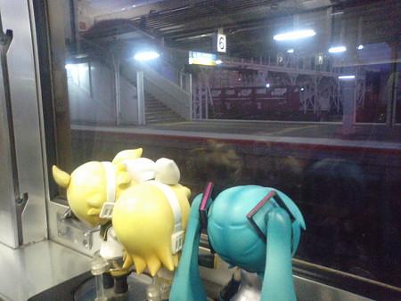 岩国駅に停車。