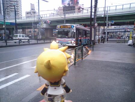 ▲平和島駅(1) 14:37 → 野鳥公園 14:41 バス (京急[森24]系統)