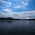 新緑の田沢湖