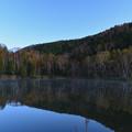 写真: 朝の木戸池