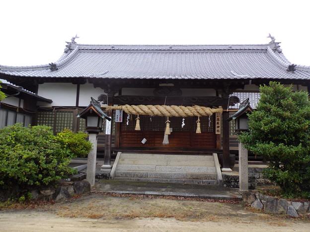 高屋神社遥拝所(下宮)