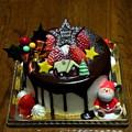 写真: 2017_1224_211750_12月24日クリスマスケーキ