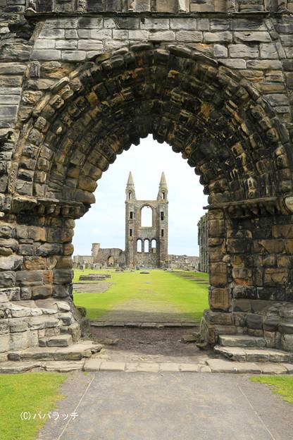 荒廃 スコットランド・セントアンドリュース城