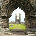 Photos: 荒廃 スコットランド・セントアンドリュース城