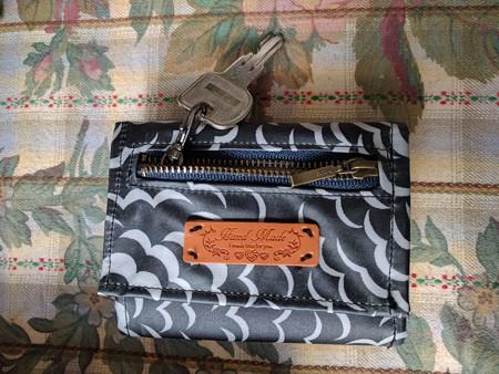 キーケースつきリバティで折財布