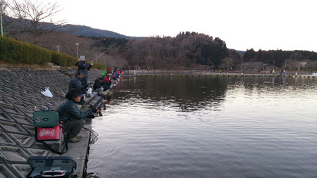 2017年の締めは爆釣エリア東山湖で…