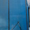 写真: 青い背景