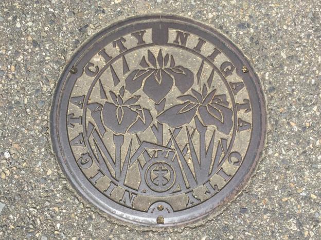 マンホール 新潟県新潟市旧味方村1 新潟市バージョン