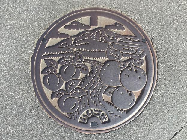 マンホール 長野県飯綱町
