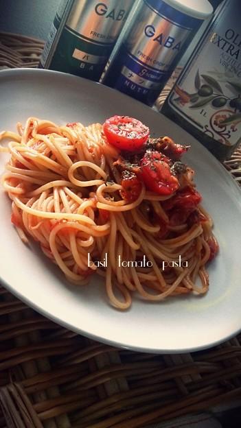 自家製トマトソースpasta