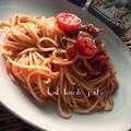 Photos: 自家製トマトソースpasta