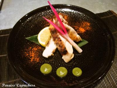 鶏の焼き物木の芽ソース