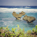 写真: Heart Rock in Okinawa