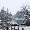 冬の兼六園#1