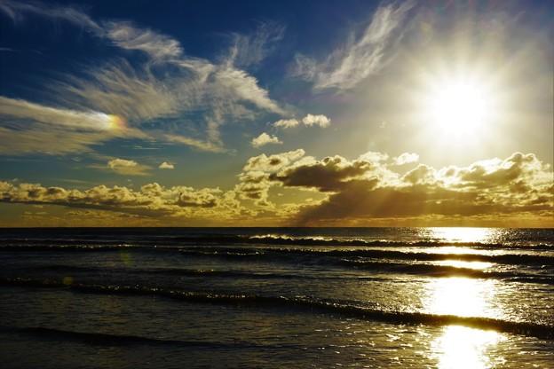 千里浜海岸のある日 DSC_2439