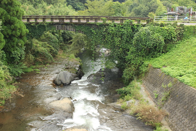 大野川に架かる住吉橋