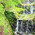 写真: 小さな滝