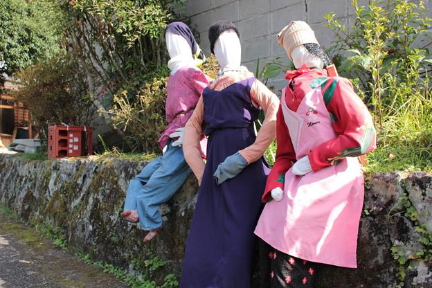 写真: 井戸端会議