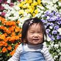 写真: 笑顔満開