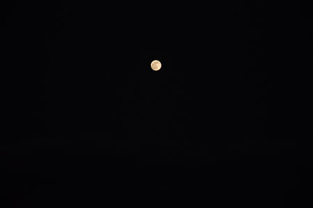 大晦日の満月