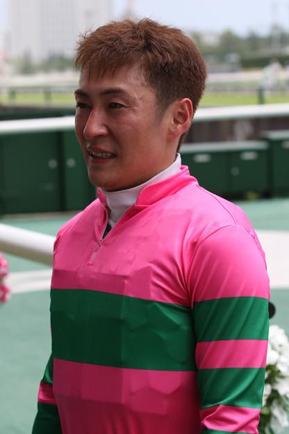 佐久間 寛志 騎手(17/07/15・4R)