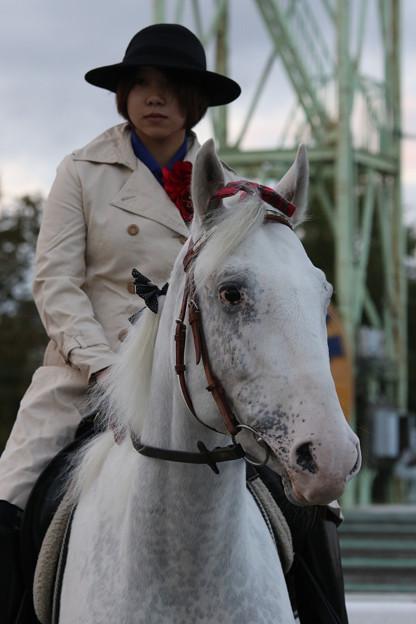 誘導馬 プリンス_3(17/09/24・第25回 銀河賞)