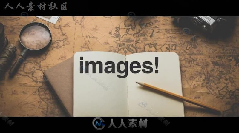 创意有趣动感节奏幻灯片标题展示AE模板 Videohive Stomp - Typographic Intro
