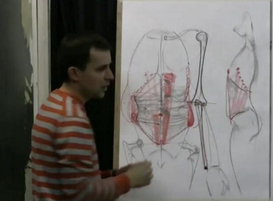 列宾学院人体速写内部课程
