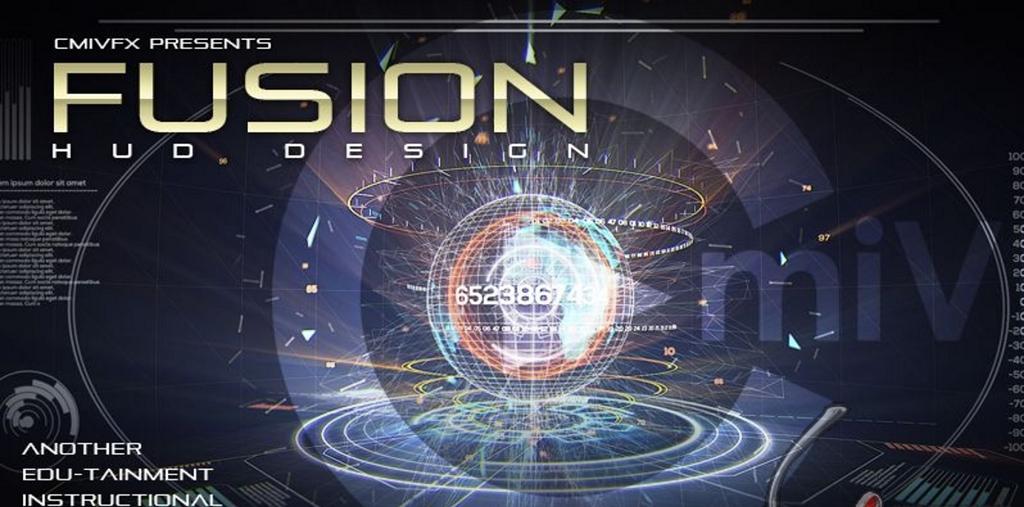 cmiVFX - Fusion 用户交互界面设计教程Fusion HUD Design HUD