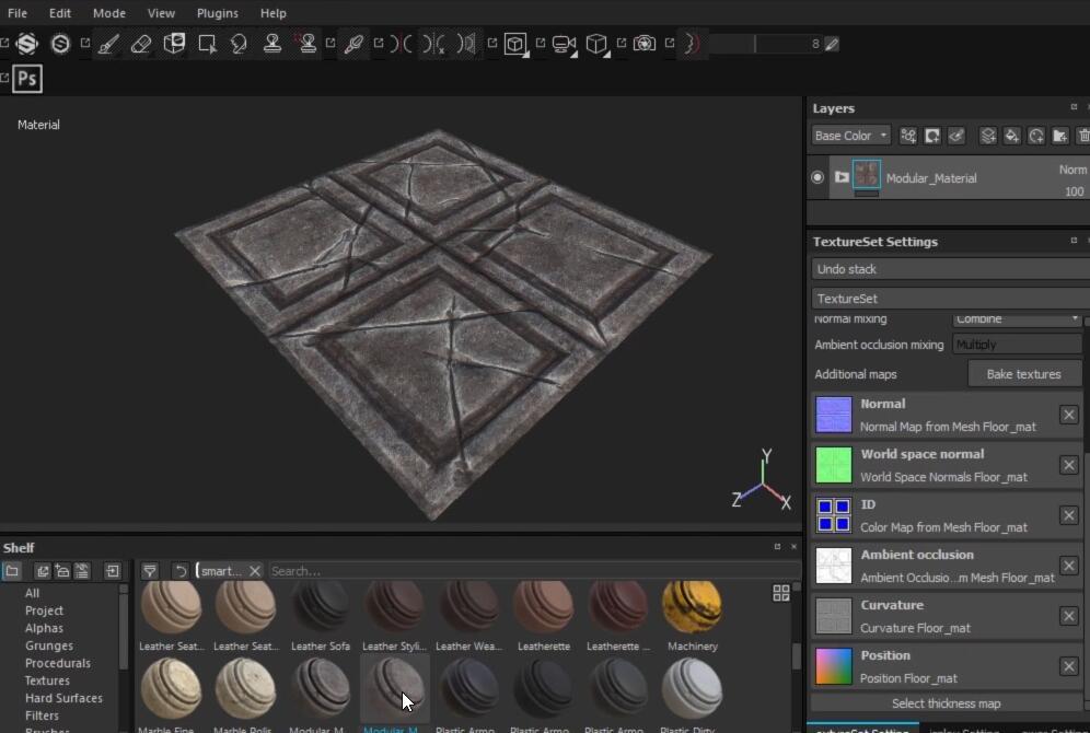 MAYA游戏场景建模雕刻纹理综合制作视频教程(Pluralsight-Creating Modular Game Assets in Maya)