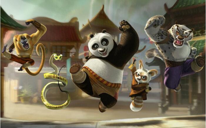 功夫熊猫1-2 1080p