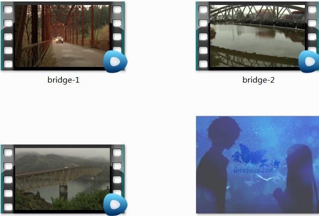 城市中的桥视频素材