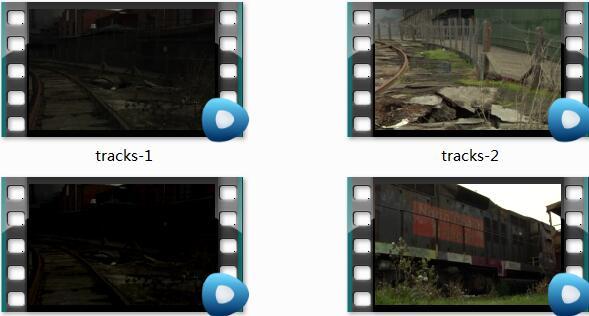 废弃的铁路视频素材