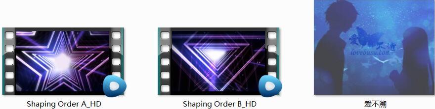 紫色图形光环动态循环视频素材(Shaping Order)