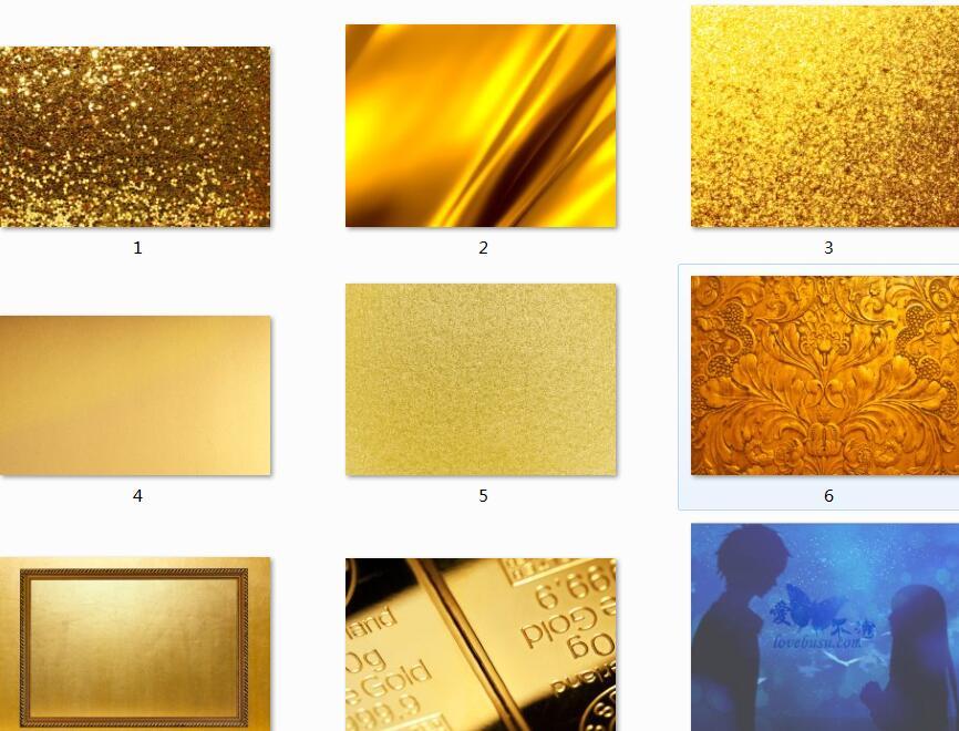 黄金材质背景高清图片素材
