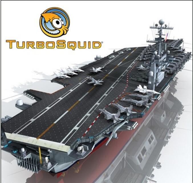 斯坦尼斯号航空母舰模型(TurboSquid – USS John C Stennis CVN-74 )