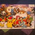ポケモンクリスマスカード ららぽーとTOKYO-BAY