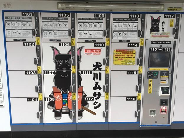 コインロッカー 犬川ムサシ 海浜幕張駅