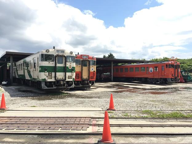 写真: キハ40 1002,1005,1007 那珂川清流鉄道保存会